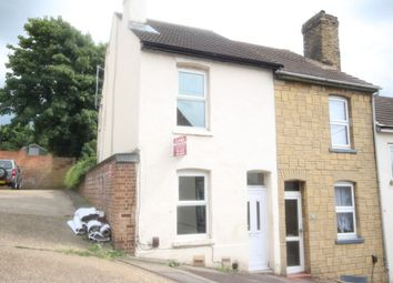 Thumbnail 2 bed end terrace house to rent in Whitehorse Hill, Chatham