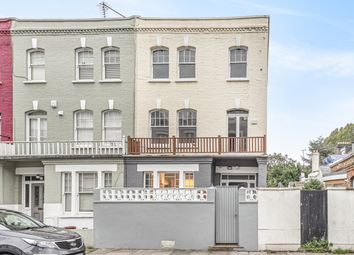 Thumbnail 4 bed end terrace house for sale in Margravine Gardens, Barons Court, London