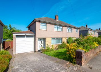 Thumbnail 3 bed semi-detached house for sale in Tiverton Drive, Cardiff