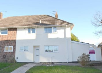 Thumbnail 3 bed semi-detached house for sale in Delamere Court, Delamere Avenue, Eastham, Wirral