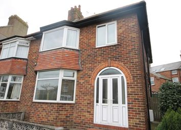 Thumbnail 3 bed semi-detached house for sale in Norman Crescent, Filey