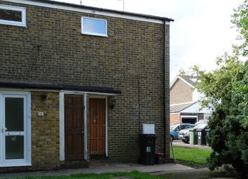 Thumbnail 1 bed end terrace house to rent in Weld Close, Staplehurst, Tonbridge