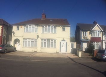 Thumbnail 3 bed semi-detached house to rent in Newark Road, Luton