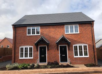 Thumbnail 2 bed semi-detached house for sale in Burton Road, Lichfield