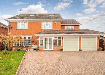 Thumbnail 5 bed detached house for sale in St. Johns Close, Swindon