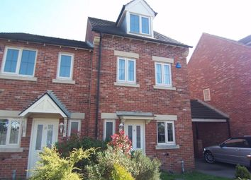 Thumbnail 3 bed semi-detached house to rent in Cambourne Place, Mansfield, Nottinghamshire
