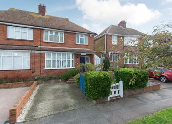 Thumbnail 3 bed semi-detached house for sale in Norman Road, Westgate-On-Sea