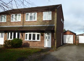 Thumbnail 3 bed semi-detached house for sale in Albert Road, Church Gresley, Swadlincote