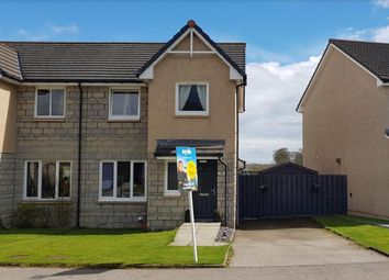 Thumbnail 3 bed semi-detached house for sale in Breckview, Ellon, Aberdeenshire