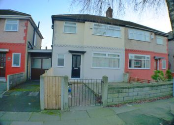Thumbnail 3 bed semi-detached house to rent in Abbeystead Avenue, Liverpool
