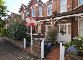 Thumbnail 3 bed terraced house to rent in Braemar Avenue, London