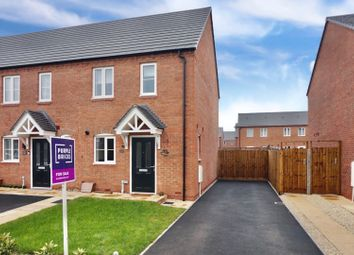 Thumbnail 2 bed end terrace house for sale in Cornfield Way, Nuneaton