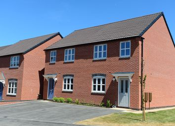 Thumbnail 3 bed semi-detached house for sale in Moira Road, Ashby-De-La-Zouch