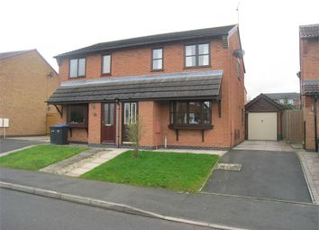 Thumbnail 3 bedroom semi-detached house for sale in Devitt Way, Broughton Astley, Leicester