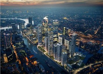 Thumbnail 1 bed flat for sale in 10 Park Drive, Canary Wharf, London