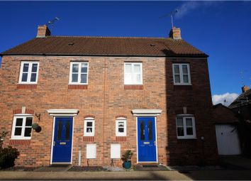Thumbnail 2 bed semi-detached house for sale in Lynnon Field, Warwick