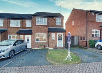 Thumbnail 3 bed town house for sale in Charlestown Grove, Longton, Stoke-On-Trent