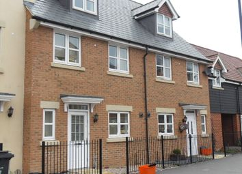 Thumbnail 4 bed town house to rent in Torun Way, Swindon