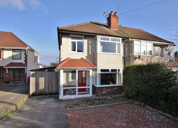 Thumbnail 3 bed semi-detached house for sale in Lyndhurst Avenue, Pensby, Wirral