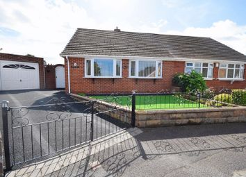 Thumbnail 2 bed semi-detached bungalow for sale in Stratford Close, Norton, Stoke-On-Trent