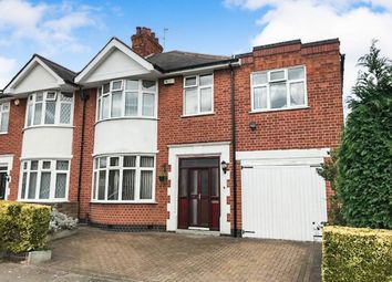 Thumbnail 4 bedroom semi-detached house for sale in Ashleigh Road, Westcotes, Leicester