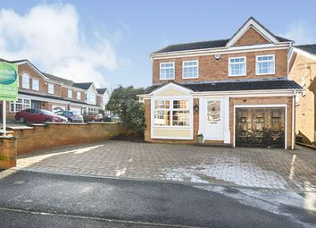 Thumbnail 4 bed detached house for sale in Royston Drive, Belper