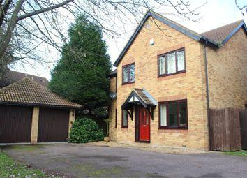 Thumbnail 4 bed detached house to rent in Morebath Grove, Furzton, Milton Keynes
