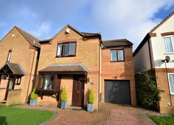 Thumbnail 4 bed detached house for sale in Liberty Drive, Duston, Northampton