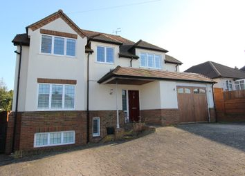 Thumbnail 4 bed detached house for sale in Partridge Mead, Banstead