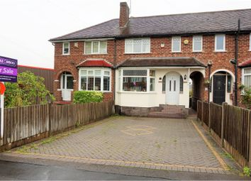 Thumbnail 3 bed terraced house for sale in Parsonage Drive, Birmingham