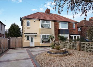 Thumbnail 3 bed semi-detached house for sale in Little Coates Road, Grimsby