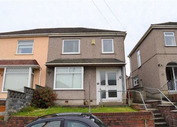 Thumbnail 3 bed semi-detached house for sale in Glenroy Avenue, Swansea
