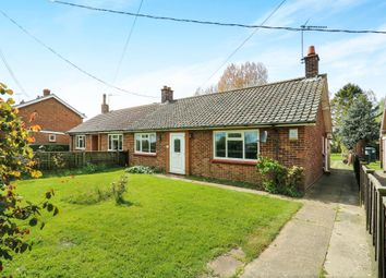 Thumbnail 2 bedroom semi-detached bungalow for sale in Mill Road, Laxfield, Woodbridge