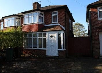 Thumbnail 3 bed semi-detached house to rent in Lamorna Grove, Stanmore, Middlesex