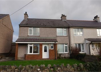 Thumbnail 3 bed semi-detached house for sale in Maes Meurig, Holyhead