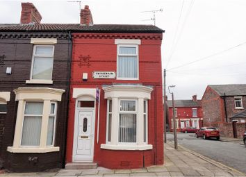 Thumbnail 2 bedroom end terrace house for sale in Twickenham Street, Liverpool