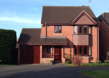 Thumbnail 4 bed detached house for sale in Columbine Road, Hamilton, Leicester