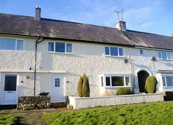 Thumbnail 3 bed terraced house for sale in Brynteg, Beaumaris, Anglesey.