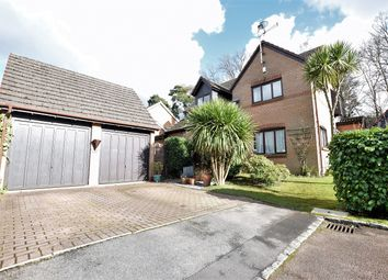 Thumbnail 4 bed detached house to rent in St Andrews Close, Crowthorne