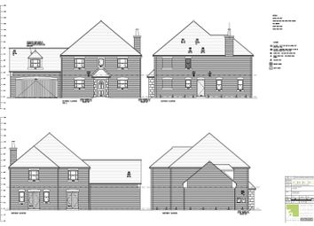 Thumbnail 5 bed detached house for sale in Penwald Court, Peakirk, Peterborough