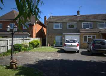 Thumbnail 3 bed semi-detached house for sale in Portsmouth Road, Ripley, Woking