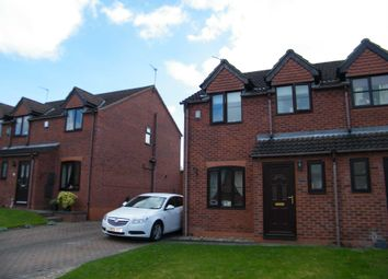 Thumbnail 3 bed semi-detached house to rent in Anderson Way, Lea, Gainsborough