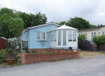 Thumbnail 2 bed mobile/park home for sale in Elmstead Park, Wiremead Lane, East Cholderton
