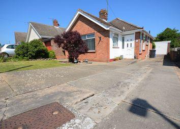 Thumbnail 2 bedroom detached bungalow for sale in Elmhurst Avenue, Lowestoft