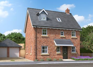 Thumbnail 3 bed detached house for sale in Griston Road, Watton, Thetford