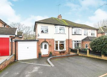Thumbnail 3 bed semi-detached house for sale in Clent Avenue, Headless Cross, Redditch, Worcestershire