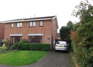 Thumbnail 2 bedroom semi-detached house for sale in Buttermere Court, Perton, Wolverhampton