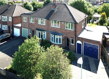 Thumbnail 3 bed semi-detached house for sale in Station Road, Thurnby, Leicester