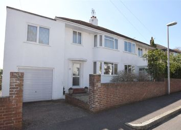 Thumbnail 4 bed semi-detached house for sale in Jennifer Close, St. Leonards, Exeter