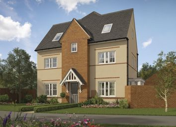 "Thumbnail 4 bed end terrace house for sale in ""Hexham"" at Elder Court, Lavender Drive, Calne"